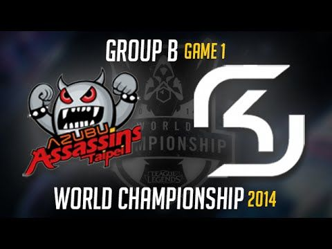 TPA vs SK Gaming S4 Worlds Game 1 Day 2 | Taipei Assassins vs SK LoL S4 ...