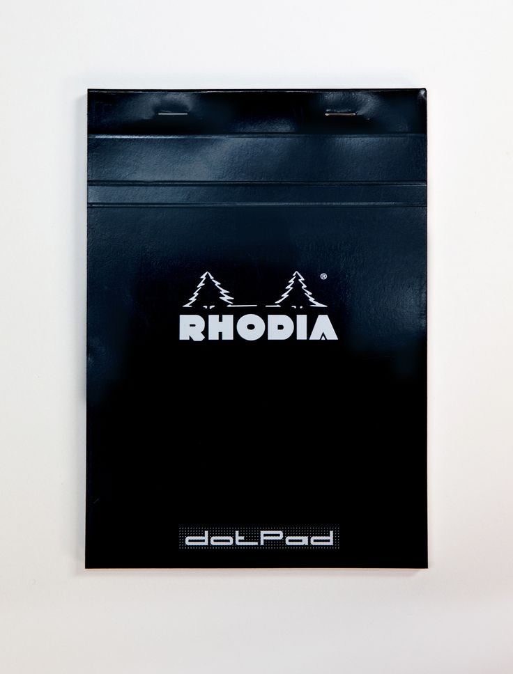 The Rhodia dot pad is the preferred practise paper for our calligraphers.