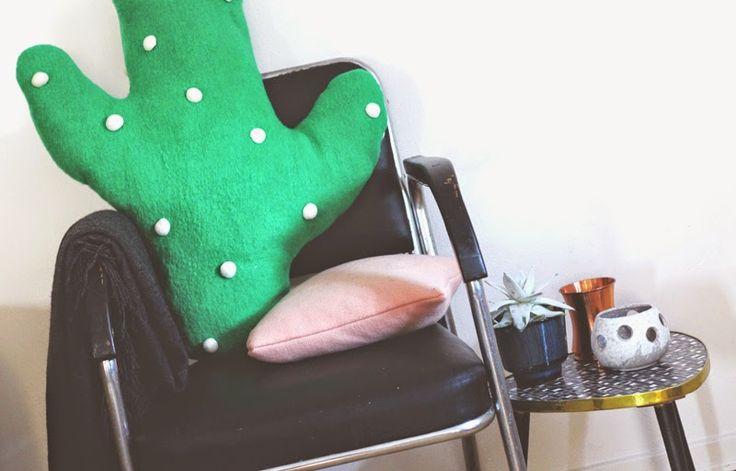 Huge cactus pillow ♥ helt og aldeles: DIY