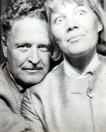 Great Turkish poet #NazımHikmet and his girlfriend Vera Tulyakova #poetry #Turkish