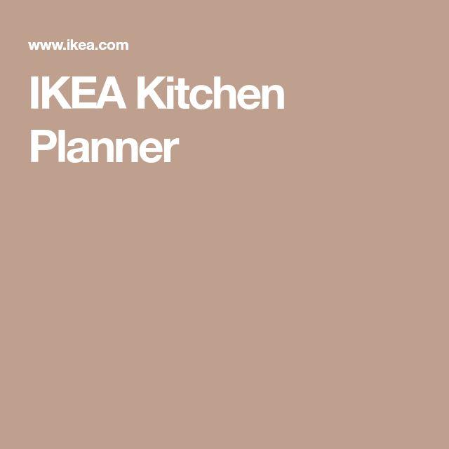 Die besten 25+ Kitchen planner ikea Ideen auf Pinterest