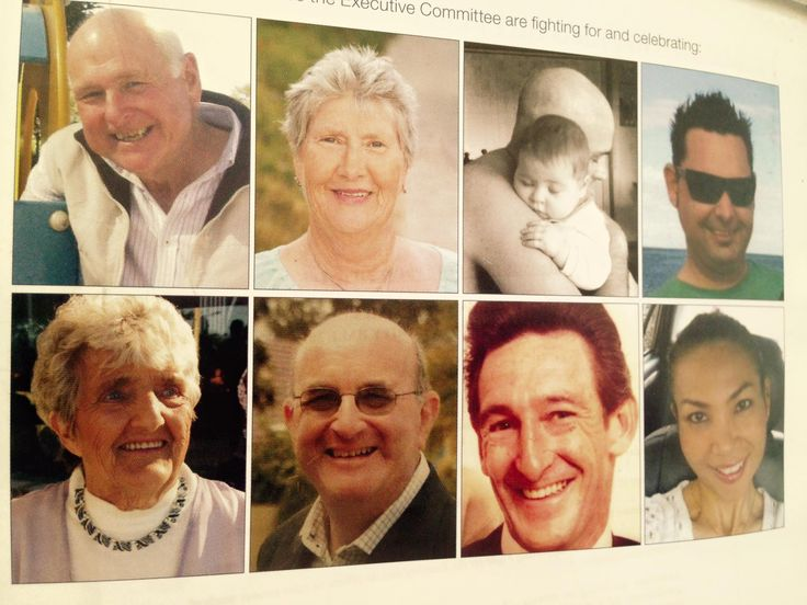 The Executive Committee remember and honour these loved ones. They are the reason we raised $200,000!
