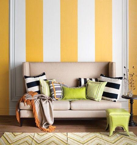 36 best Striped walls images on Pinterest | Bathroom ideas ...