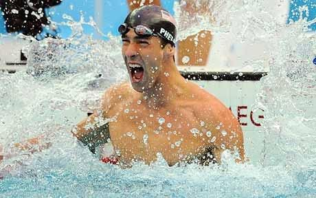 Michael Phelps wins his 8th Gold at Beijing