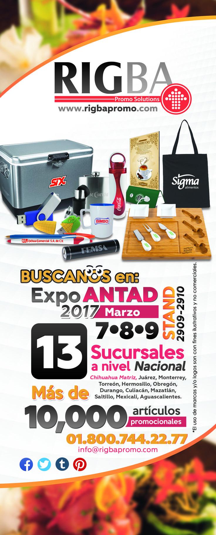 Este 7, 8 y 9 de Marzo estaremos participando en Expo Antad y Alimentaria en Expo Guadalajara.🍅 🍞 🍗 🍷 Visítanos!! Tendremos regalos