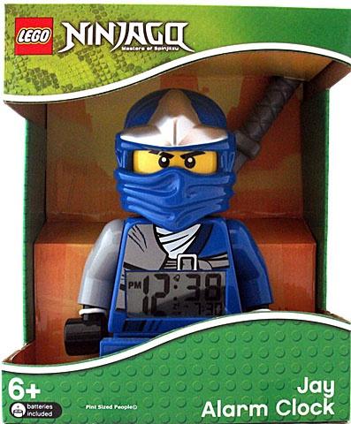 LEGO Alarmklok Ninjago Jay I want this so bad!!!!!!!!!!