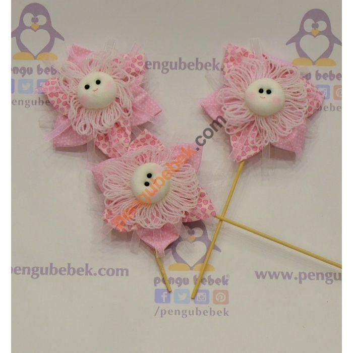 Çiçek Kız Bebek Şekeri, bebeğinizin gelişi anısına ziyaretçilerinize verebileceğiniz çok sevimli bir hatıra. Pengu Bebek