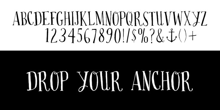 Drop your Anchor typo