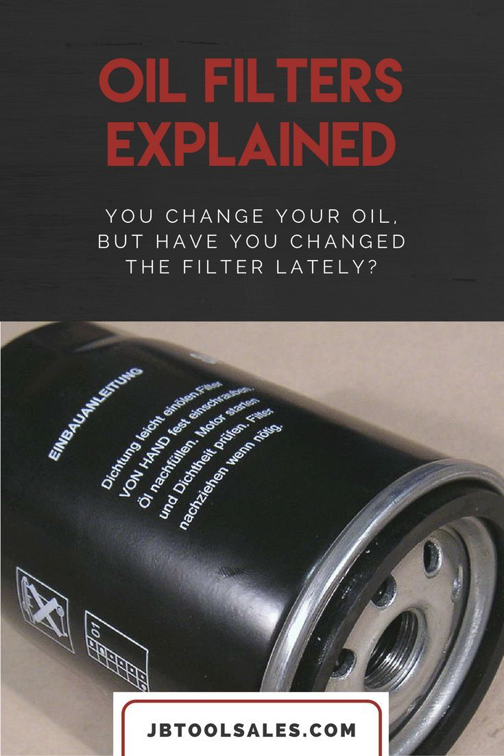 Oil filers explained what they do and how they work