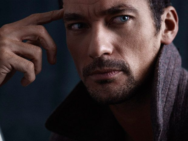 Supermodel David Gandy stars in the cover story of British Men's Fitness' February 2017 edition captured by fashion photographer Glen Burrows.