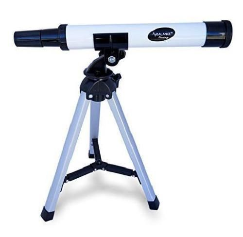 Beginner Aluminum Telescope Tripod And Celestial Maps Kids Science Toy Gift