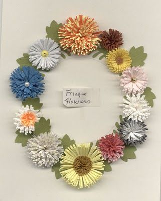 SCRAP A LITTLE!: Tutorial for quilled flowers