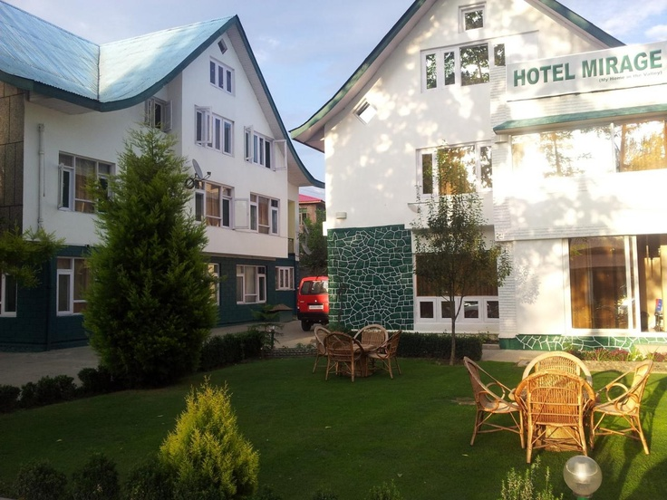 Hotel Mirage is a ultra modern hotel located in the city of Srinagar. This luxurious property