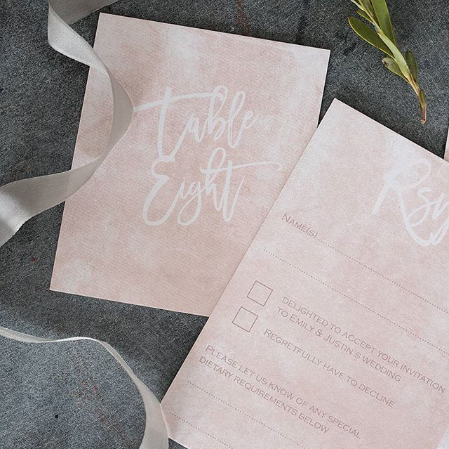 I had a fun morning yesterday dropping some samples of my Blush & Gold collection of #weddinginvitations to the girls at the @thepropfactory for a photo shoot they were doing. It was based at the stunning @osborne_hotel_torquay which is just across the harbour from me in Torquay. I then popped over to meet with a styling client who's wedding I'm styling in April and have a chat with her florist ... the lovely @hollyhocksflorist ... I can't wait to see this wedding coming together on the day…