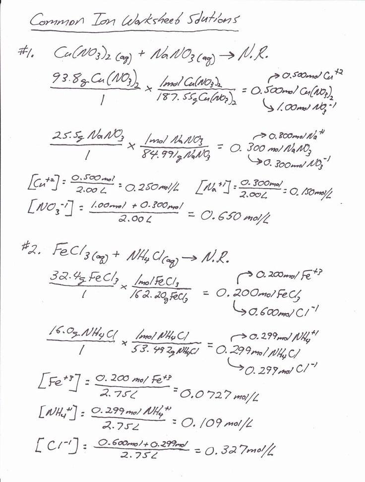 Academic Stoichiometry Mole Mole Problems Worksheet Answers