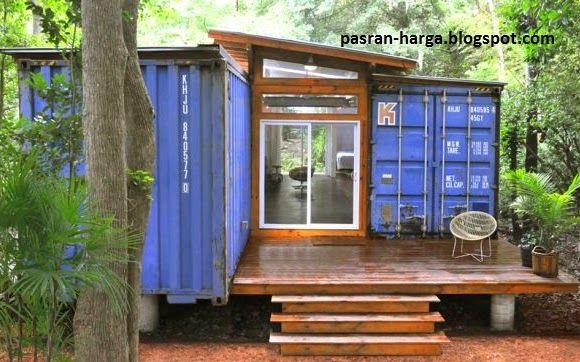 Harga Rumah Kontainer Dengan Desain Model Bangunan Terbaru | Pasaran Harga™