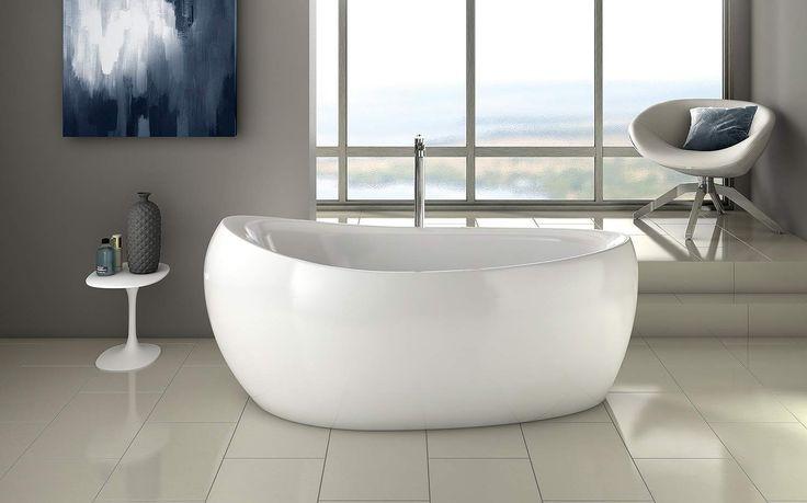 une magnifique baignoire lot r alis e par la marque. Black Bedroom Furniture Sets. Home Design Ideas