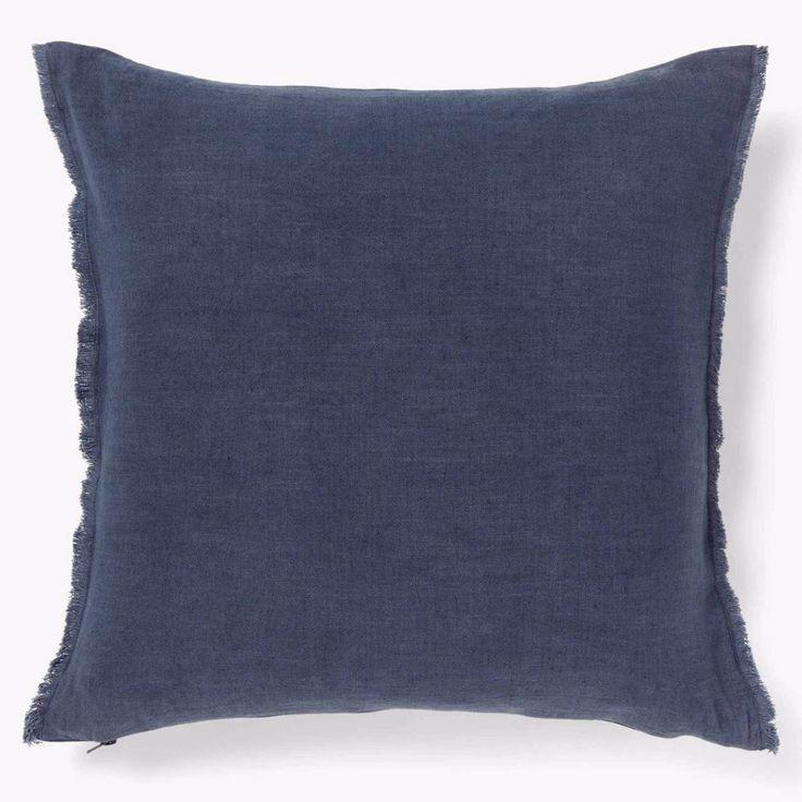 Cushion Fringe STONE BLUE