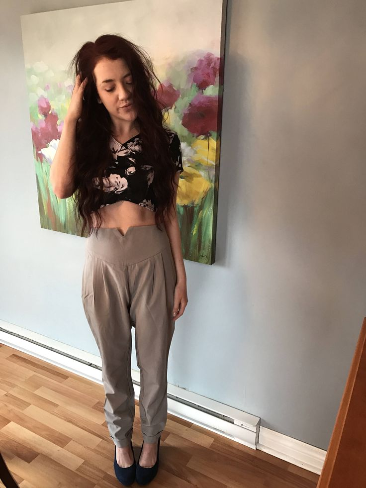 A personal favorite from my Etsy shop https://www.etsy.com/ca/listing/521235666/high-wasted-skinny-trouser