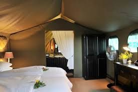 The safari tents are fully equipped with tea and coffee making facilities, toiletries, hair dryers and personal safes.