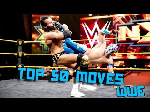 Top 50 Moves Of Kalisto (WWE)