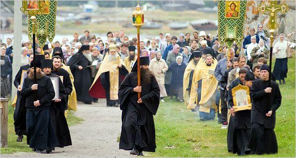Monks of Solovetsky Islands