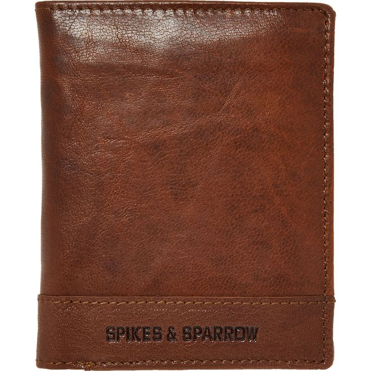 Brown Leather Bifold Wallet - Gifts for the Gentleman - Christmas Gifts - Christmas - TK Maxx