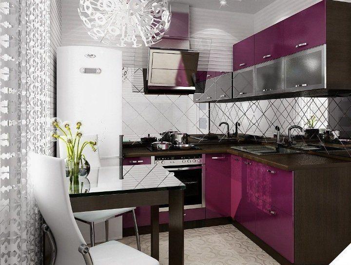схема кухни 10 кв.м фото