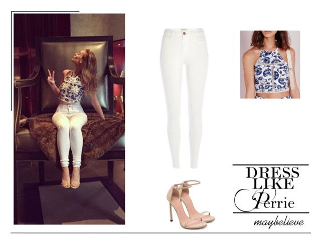Perrie Edwards #10 by maybelieve on Polyvore featuring moda, River Island and Stuart Weitzman