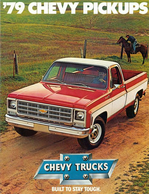 1979 Chevrolet Silverado Pickup Truck. Somebody please tell me why older trucks are better  than the new ones. awesome