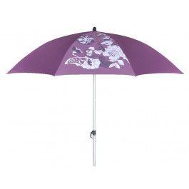 Trendy strandparasol van S.Oliver 180 cm met modische print. Parasol wordt geleverd met handige bijpassende draagtas