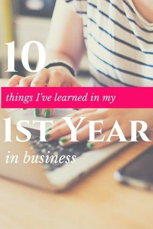 10 Things I've Learned from my 1st year in business. On reflecting on the year and what I've learned about myself and business, I know there are some things I would change and some things that I've learned the hard way. I want to share my biggest learnings with you to inspire you and hopefully stop you from making the same mistakes in your journey.