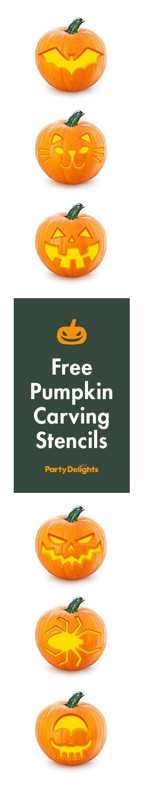 Carve the perfect pumpkin for Halloween with our free pumpkin stencils. All our pumpkin templates are completely free to download and we have 15 different designs on offer.