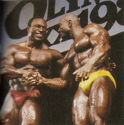 Sergio Oliva & Lee Haney
