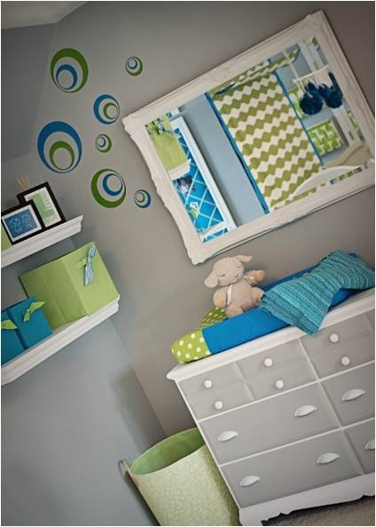 Blue Green Gray Baby Room Color Ideas Pinterest
