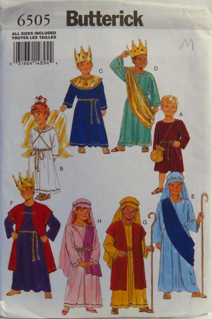 Butterick 6505 Children's Costume