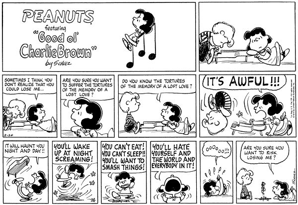 lucy and schroeder quotes - Google Search