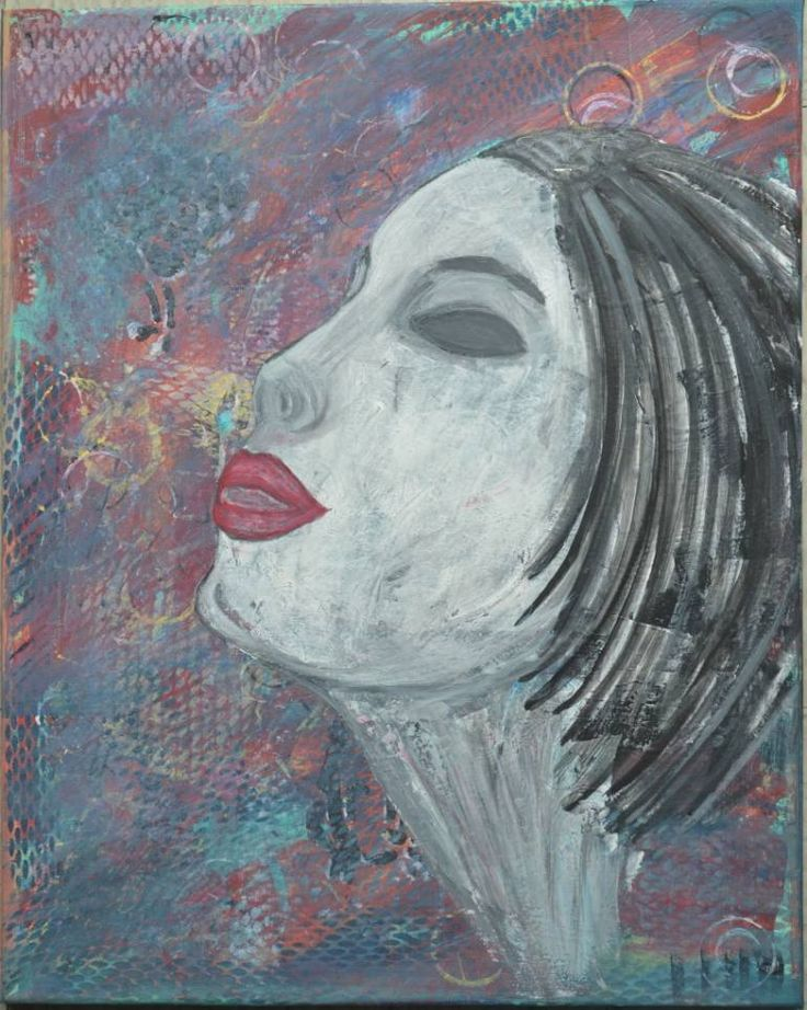 "Saatchi Art Artist Lavi Picu; Painting, ""Daydreaming"" #art"