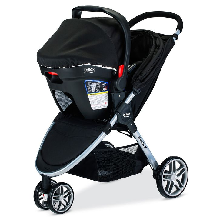 Taking baby on the go is a breeze with the Britax® B-Agile & B-Safe 35 Elite Travel System. Including a car seat, car seat base, car seat adapter and stroller, this system has everything you need to get baby to your next destination and give them a smooth ride once you're there. Providing the utmost in convenience, the car seat is LATCH compatible to easily install in most vehicles and features a no re-thread harness for more secure strap adjustment, and the stroller can be f...