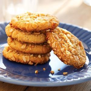 Honey Roasted Peanut Cookies | Recipe