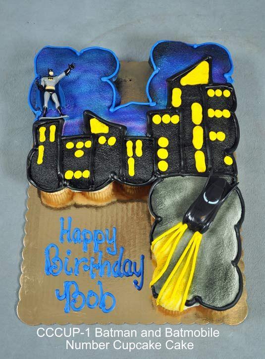 Number 1 Cupcake Cake cakepins.com