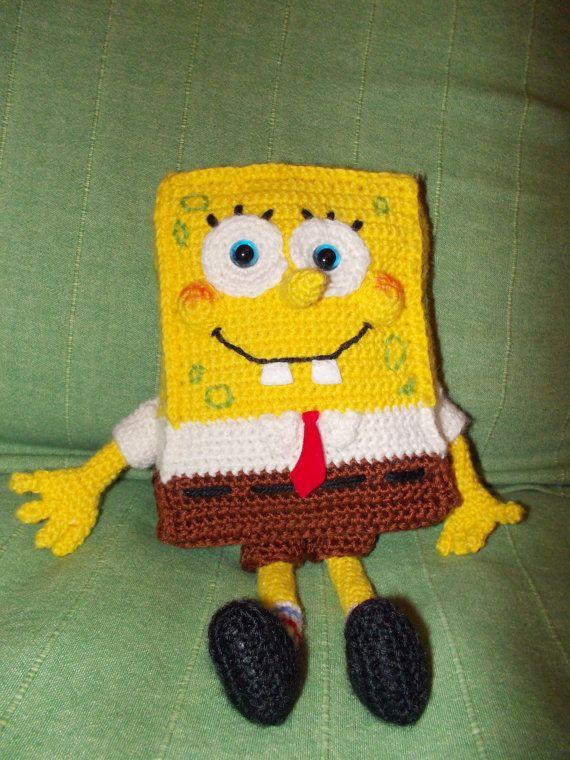 Spongebob Squarepants Crochet Hat Pattern Images Knitting Patterns