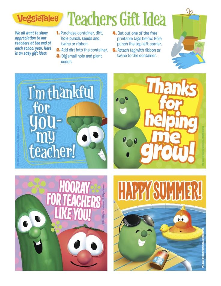 Teachers Gift Idea! #printable #free