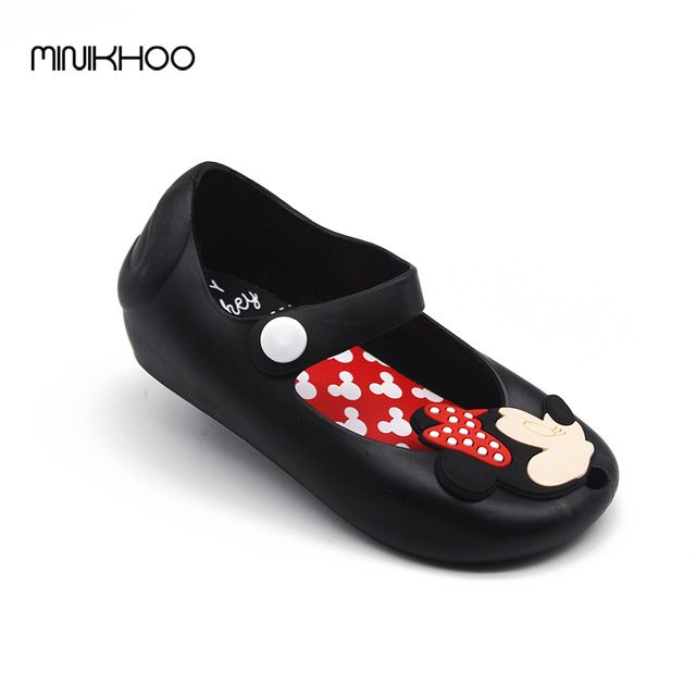 Sale Price $7.64, Buy 2016 Mickey & Minnie Mini Melissa Jelly Shoes Baby Boys Girls Sandals Soft Comfort Toddler Girl Sandals Beach Sandals Kids