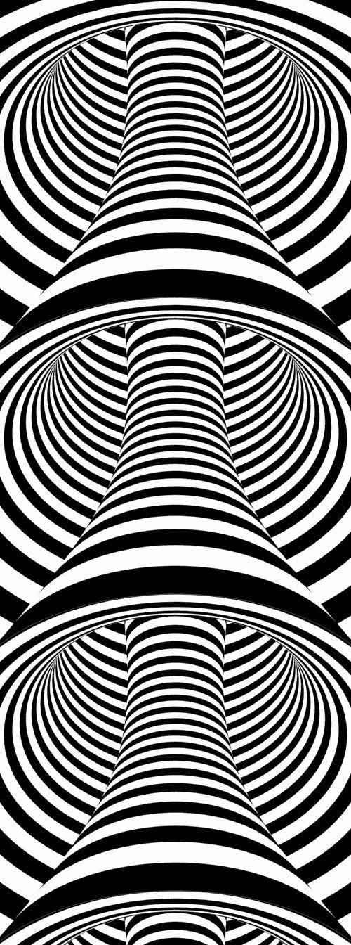 Optical Illusion QQQ - by Osama Nofal