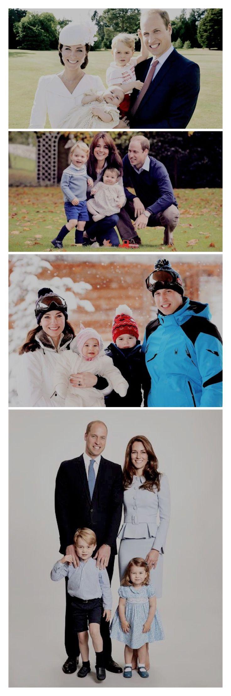 The Cambridges official photos as a family of four.