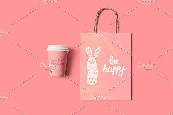 Be Happy by barsrsind on @creativemarket