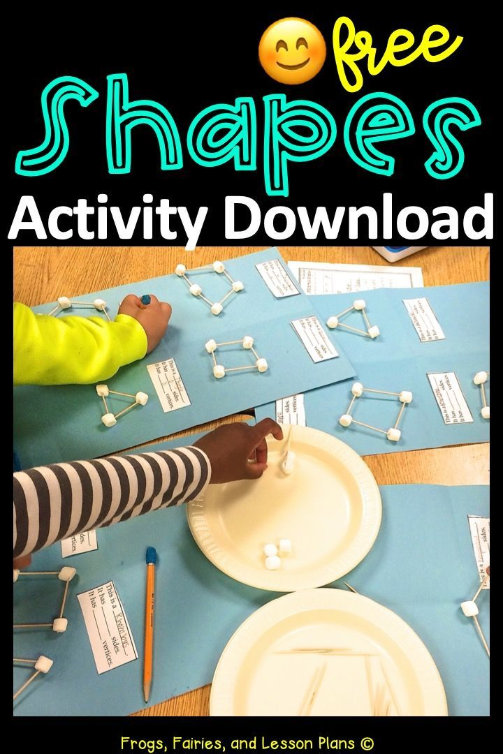 Learning About Shapes 2 Teacher Directed Activities