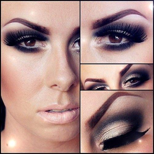 Classic dark #smokey #eye #makeup by frances