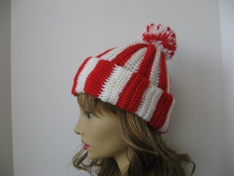 Easy Beginner #Crochet Hat - YouTube | My Free YouTube ...